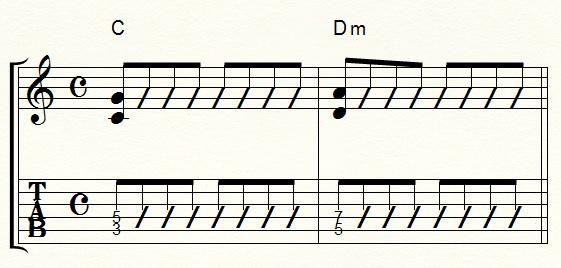 パワーコード15弦ルート
